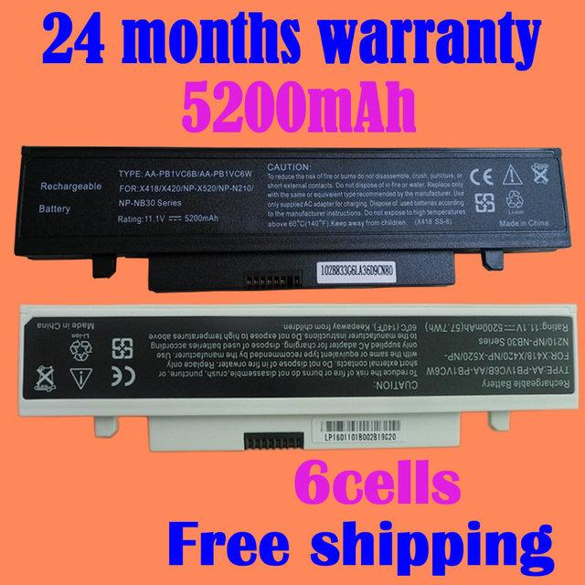 Bateria do portátil para samsung n210 n220 marvel n220 mito jigu N145 NB30 Pro para Palm Touch X520-Aura SU2700 Aven X420-Aura Addi