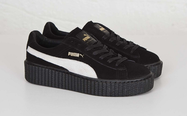 Free shipping 2018 new Puma Rihanna series sports shoes and other series of  classic hainterface badminton shoes size 36-44 00bc986cf