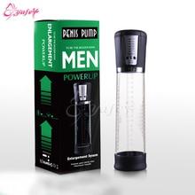 Penis Stretcher-Electric Male Penis Vacuum Pump Air Enlarger Extender Strong Suction Auto-Powered Men Prolong Enhancer Vacuum