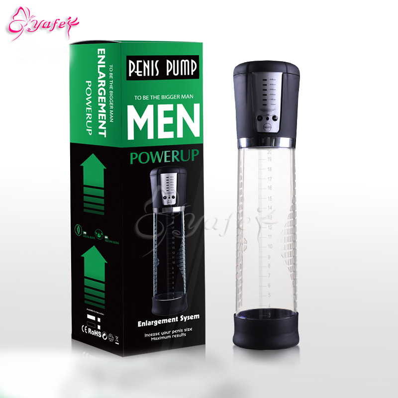 Penis Stretcher-Electric Male Penis Vacuum Pump Air Enlarger Extender Strong Suction Auto-Powered Men Prolong Enhancer Vacuum
