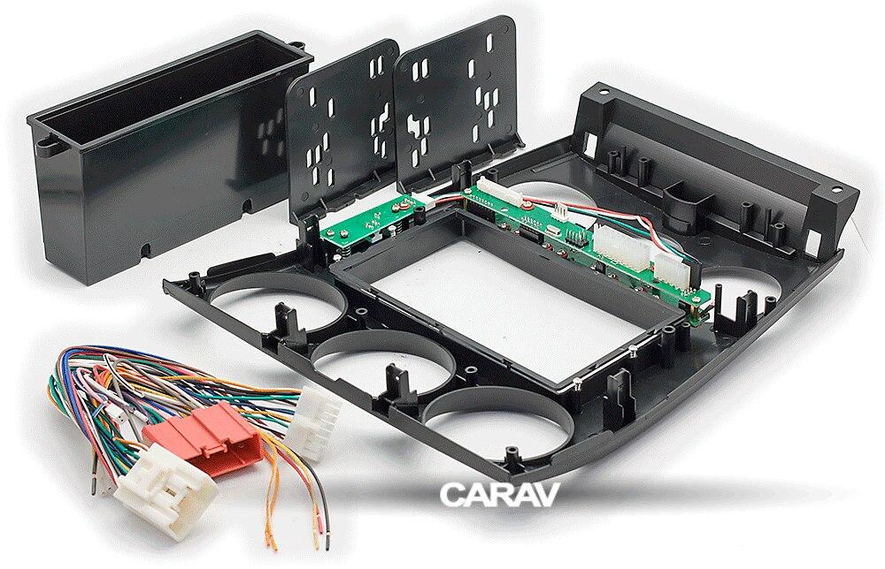 CARAV 11-106 Car Stereo Radio Fascia Panel Frame Kit MAZDA 6 2002-07 Manual A//C