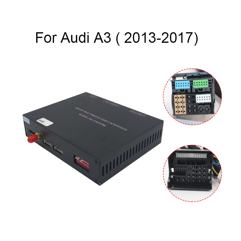 2019 Car Apple CarPlay Android Auto Wireless Decoder for Audi A3/B9 MMI  Original screen iOS & Reverse image Retrofit Kit