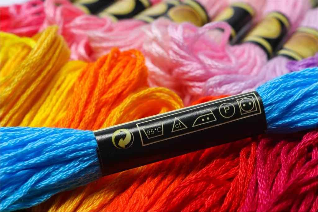 خيوط بغرز متقاطعة ماركة cxc 10 قطعة خيط تطريز قطني بغرز متقاطعة خيط خياطة ألوان حرفية 7-2