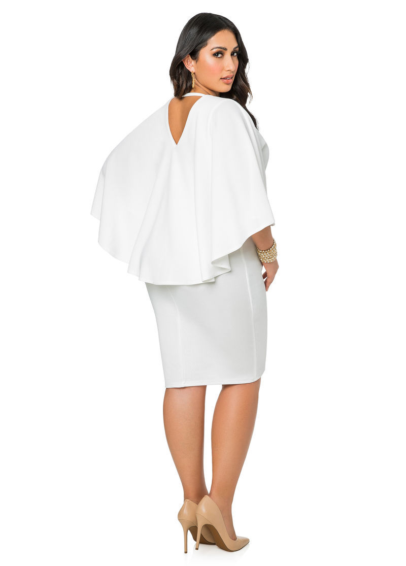 Emejing Winter White Dresses Plus Size Pictures - Mikejaninesmith ...