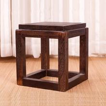 Pleasant Japanese Antique Wooden Stool Chair Paulownia Wood Small Beatyapartments Chair Design Images Beatyapartmentscom