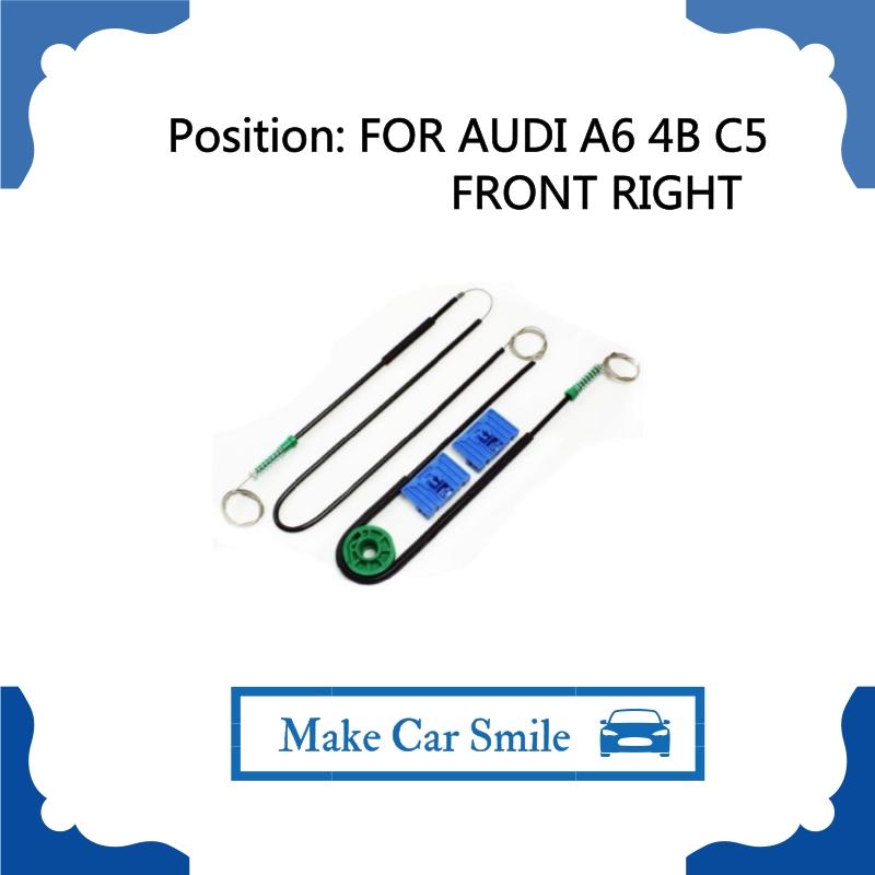 Audi A6 4B C5 Window Regulator Repair Front Right