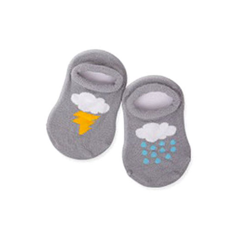 Kacakid 2017 Newborn Baby Boys Girls Infant Cartoon Ankle Socks Cloud Print Cotton Anti-slip Socks for 0-4 Years Y6 ...