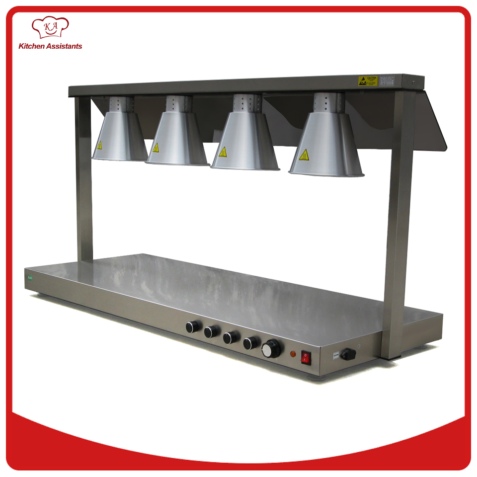 DR4 Free standing high performance food warmer four warm lamp for commercial use 1000g 98% fish collagen powder high purity for functional food