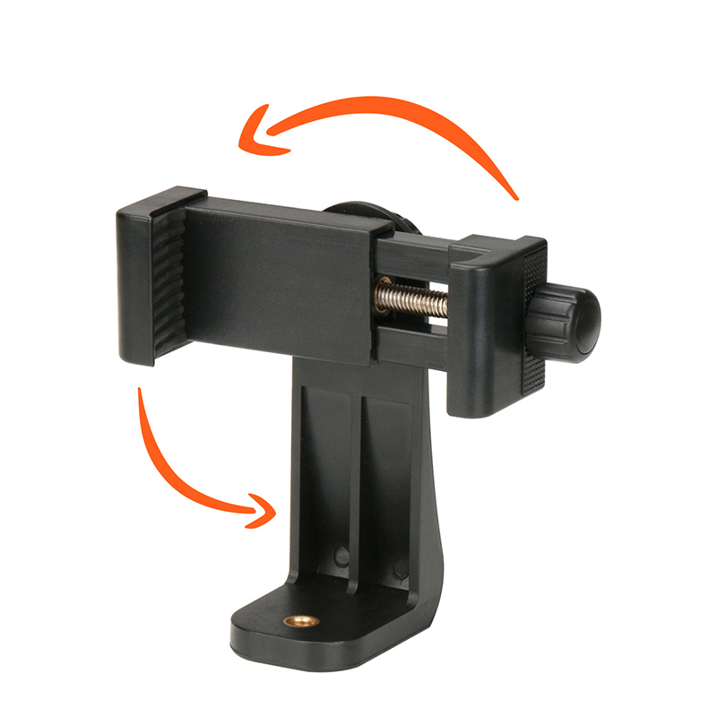 Universal Phone Tripod Mount Adapter Mobiltelefon Clipper Holder - Kamera og foto - Foto 2