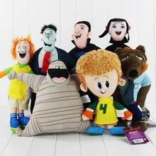 27 39cm 7styles Hotel Transylvania 2 Frank Dennis Dracula Mavis Jonathan Mummy Soft Stuffed Plush Toys