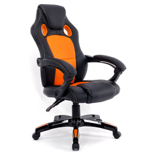 цены Simple Style Office Chair Multi-function Lifted Rotated Computer Chair Fixed Armrest Household Reclining Leisure Gaming Chair