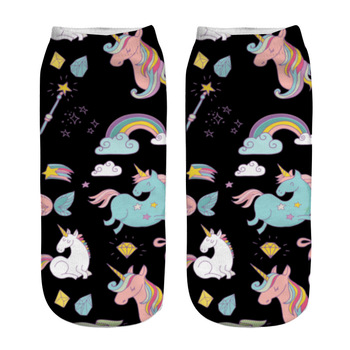 3D Printed Unicorn Womens Socks