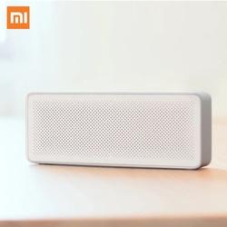 Original Xiaomi Speaker Pencil Box Xiaomi Bluetooth 4.2 Speaker 2 Square Stereo Portable High Definition Sound Quality