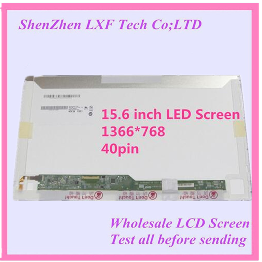 Free shipping 15 6 Laptop LCD Screen Matrix For Lenovo B590 59366614 LED Display 40 pin