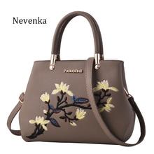 Nevenka Women Bag Zipper Embroidery Handbag Flower Bag Floral Tote Ladies Evening Strap Bags Colorful Female Messenger Bags Sac