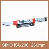 Free Shipping 16mm*16mm Sino KA200 260mm Linear Scale Sino KA 200 260mm linear transducer for CNC