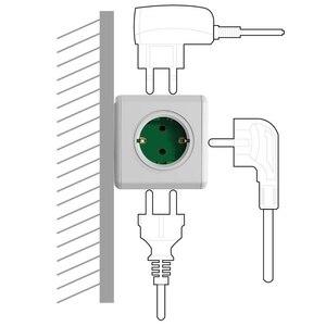 Image 5 - محول محول قطاع الطاقة 5 منافذ من Allocacoc PowerCube مقبس DE Plug 16A 250 فولت