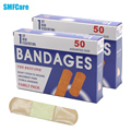 Free Shipping100PCs/2Boxes Waterproof Breathable Stop Bleeding Quickly Sterile Adhesive Bandages Hemostasis Band aid Z13402