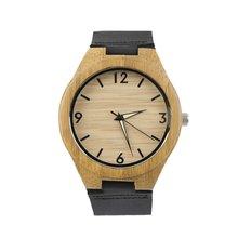 Для мужчин деревянные Повседневные часы пару часов белый указатель Часы для дропшиппинг оптовая продажа Relogio