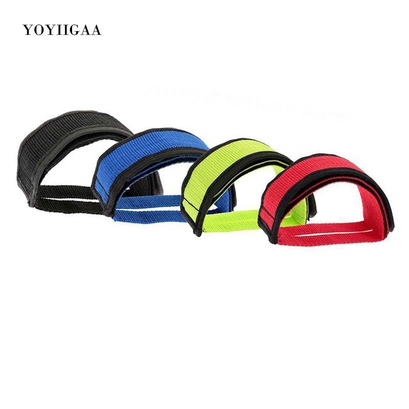 Fixie Bicycle Adhesive Straps Pedal Toe Clip Strap Belt JH