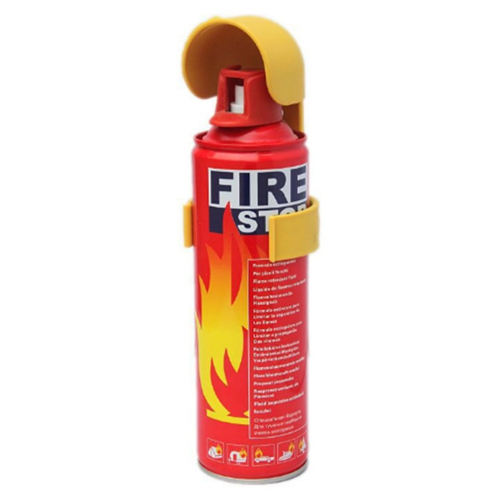 Mini Portable Car Fire Extinguisher with water foam fire extinguishing Fire Extinguisher Safety Flame Fighter for Home Office new 1 5mx1 5m fiberglass household fire blanket emergency survival fire tents personal safety fire extinguisher tents