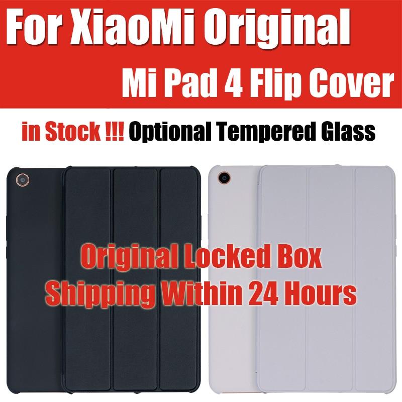 in Stock original xiaomi mipad 4 Smart Case tablet pc Matte Leather Flip Cover Snapdragon 660 AIE MIPAD4 WiFi LTE 32/64GB
