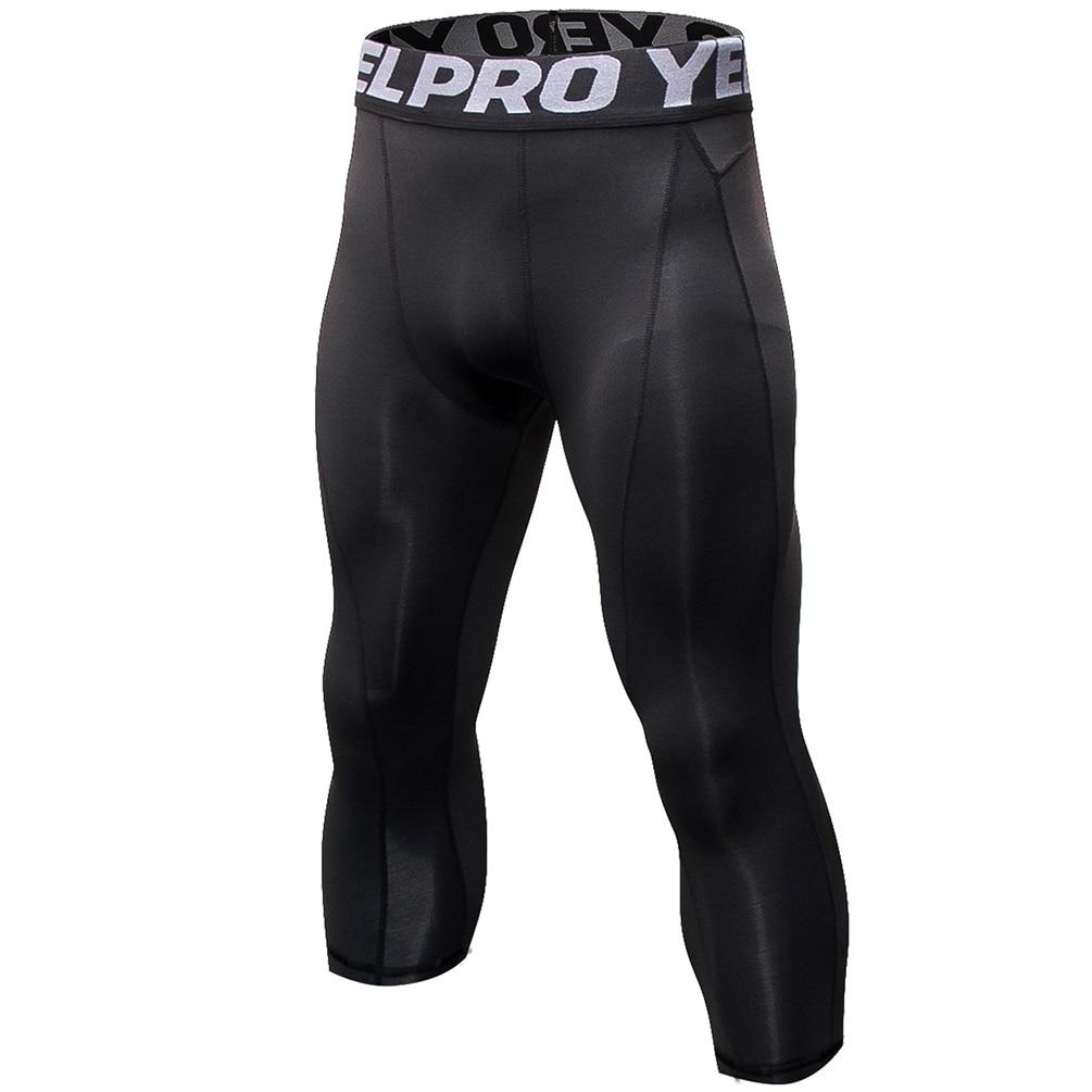 Men Casual Compression Pants Long Johns Stretchy Pants Quick-dry Leggings Baselayer Leggings Soft Trousers Long Johns