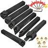 Hot Sale 7pcs Set Of 12mm CNC Lathe Turning Tool Holder Boring Bar With DCMT TCMT