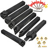 Hot Sale 7pcs Set Of 12mm CNC Lathe Turning Tool Holder Boring Bar With DCMT TCMT