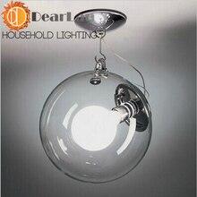 Большой Galss подвеска лампа украшения салон лампа центр ресторан современный из светодиодов подвесной бесплатная доставка
