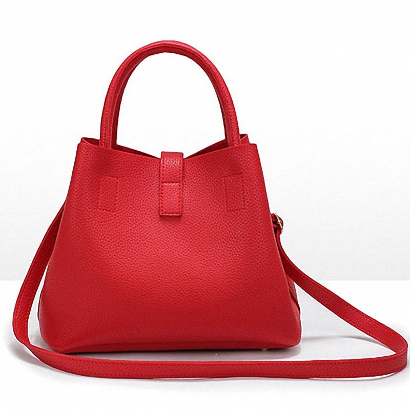 2018 New Arrivals Summer Women S Leather Handbags Clutch Female Top Quality Shoulder Bag Lady European Designer Luxury Handbag In Bags From