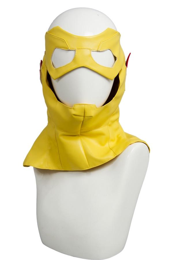 Jeune Justice saison 2 enfant Flash tenue Original 100% Cosplay Costume pour Halloween Costume de fête ceinture gants masque pantalon ensembles supérieurs - 4