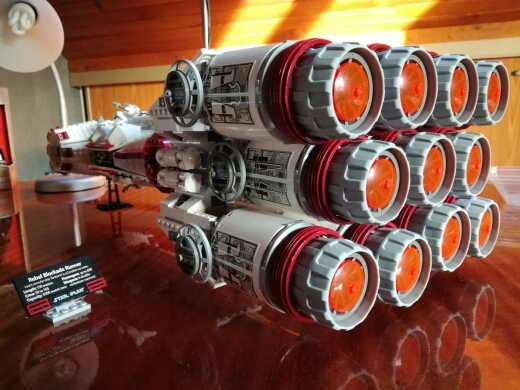 Lepin 05046 1748Pcs New Star War Series The Tantive IV Rebel Blockade Runner Set Educational Building Blcoks Bricks Toys 10019