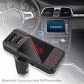 Manos Libres Bluetooth Coche reproductor de MP3 encendedor del coche cargador de coche AUX receptor de audio
