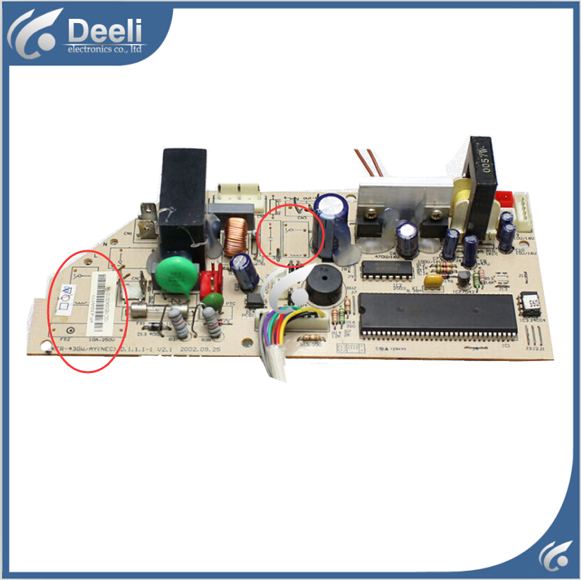 95% new used Original for air conditioning board 2P KFR-43GW/AY.D.1.1.1 circuit board