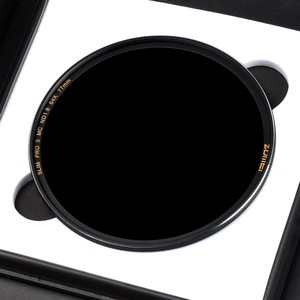 Image 2 - ZOMEI Slim ND Filter ND8 ND64 ND1000 Silver Rimmed Optical Glass filter 49/52/55/58/62/67/72/77/82mm for Camera Nikon Canon Sony