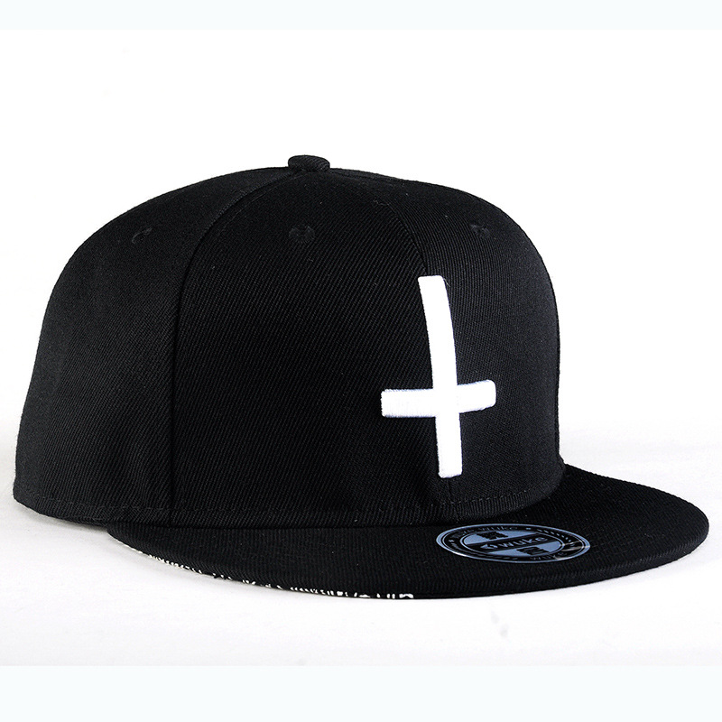 Cross Embroidery Baseball Cap Men Women Cool Personalized Hat Diy 2018  Japan Harajuku Fashion Hats Snapback Hip Hop Outdoor Caps-in Baseball Caps  from ... a3865f7df352