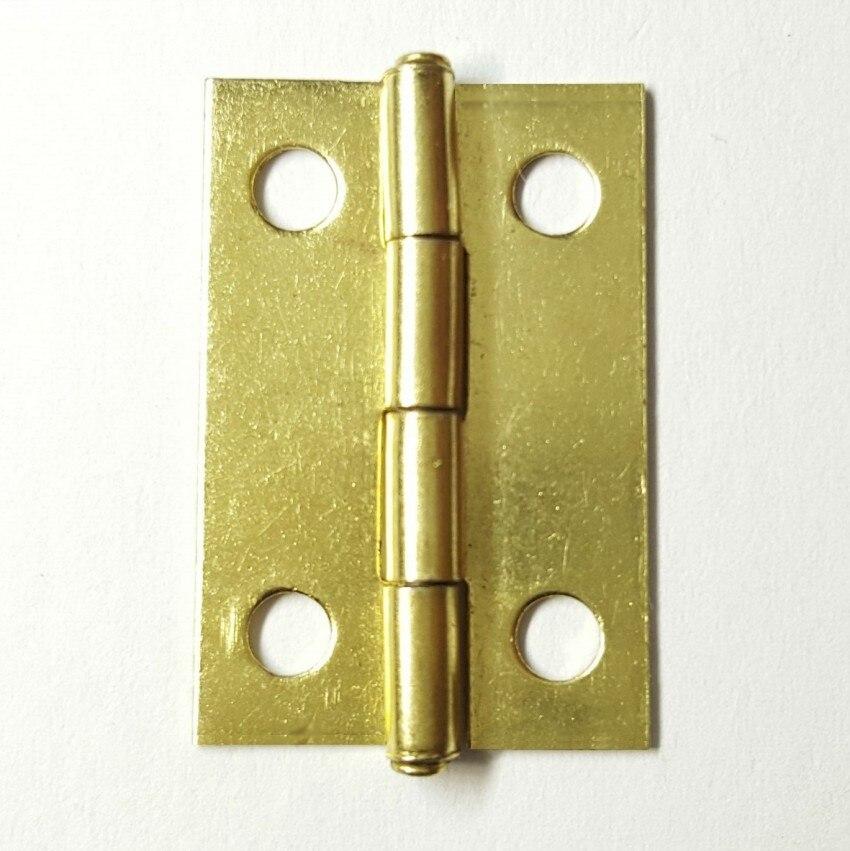 Wholesale  Bronze//Gold Decorative Vintage Hinges Craft DIY With Screws