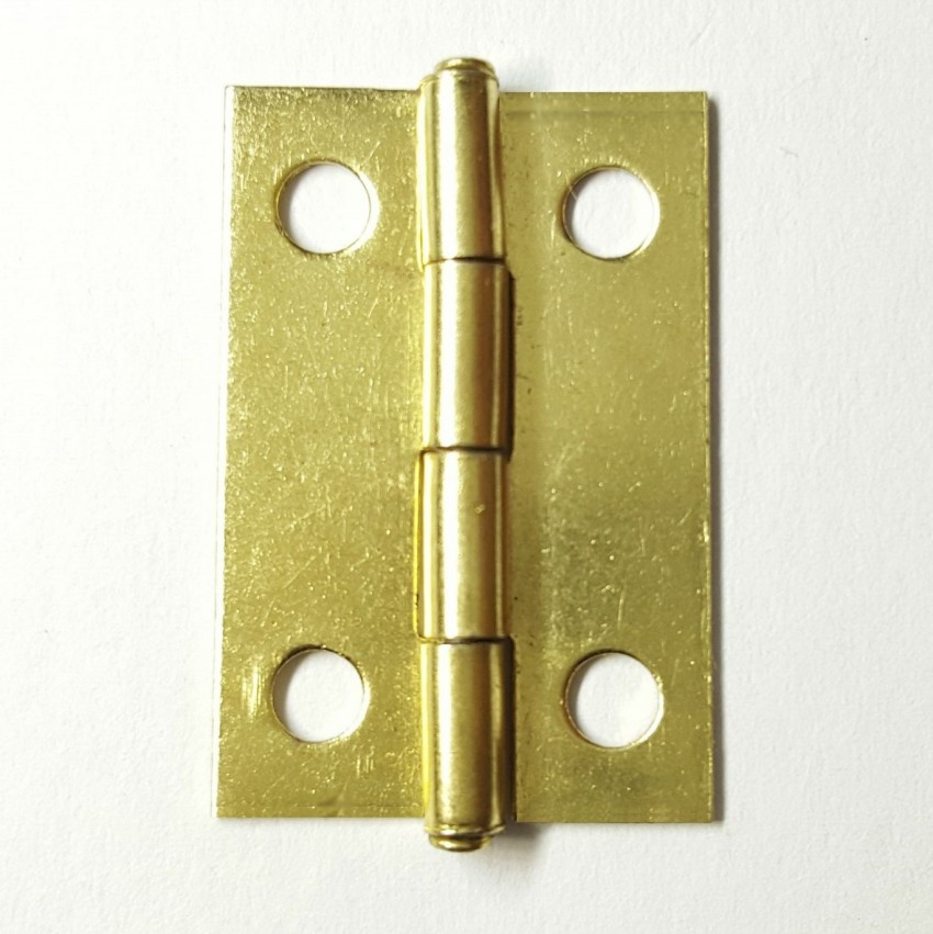 200pcs 17*24mm 1 Inches  Brass / Bronze Hinge 180 degree Iron Flat Wooden Box Case Cabinet Door Furniture Drawer Fix 200pcs 18 15mm hinge brass bronze color flat wholesale small hardware for wooden box case cabinet drawer door funiture fix