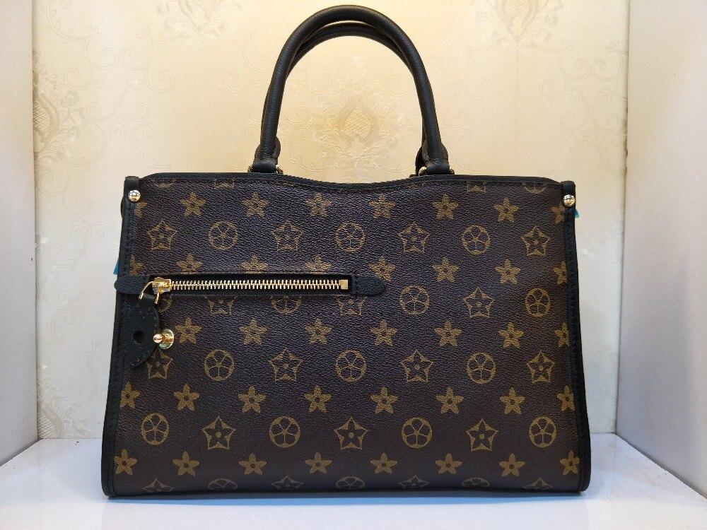 Luxus Leder Freies Marke Tasche Mode Damen Messenger Qualität 100 Verschiffen Die Höchste Berühmte Schulter qBpCCtx