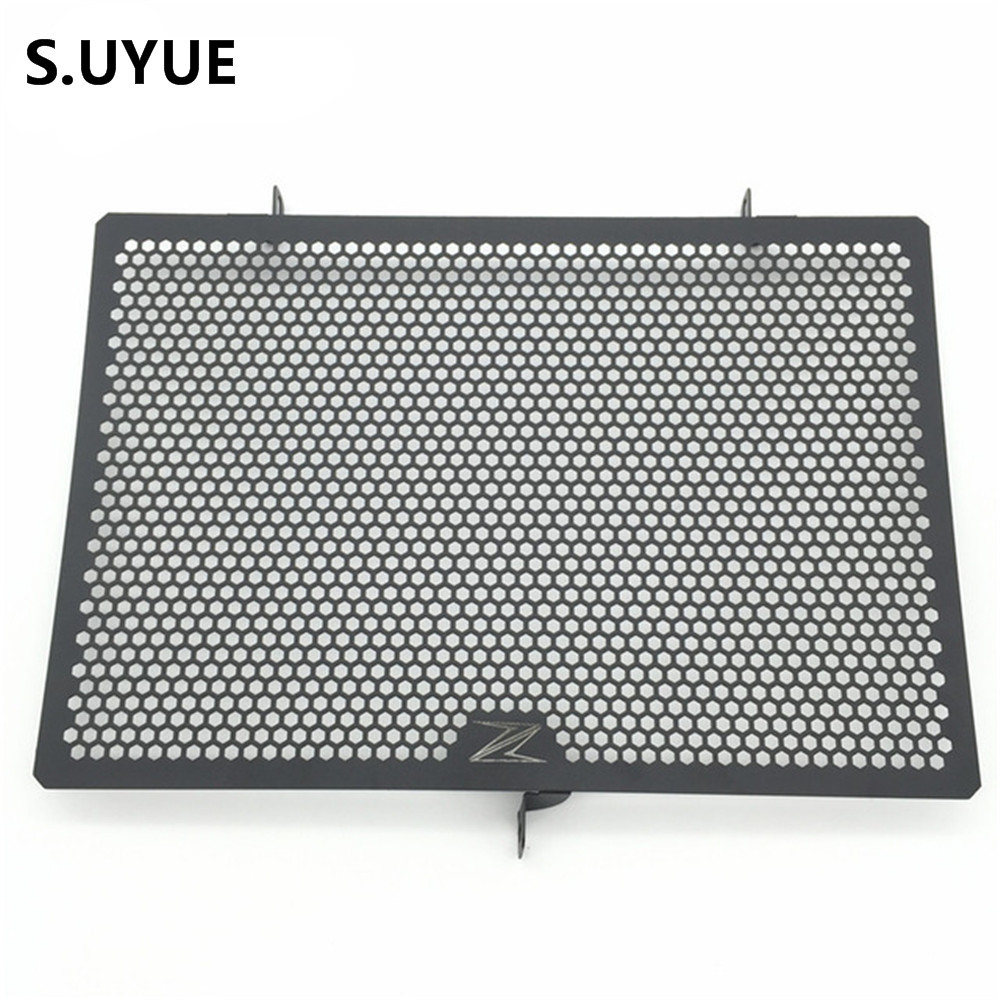 Motorcycle Radiator Protective Cover Grill Guard Grille Protector For Kawasaki Z750 Z1000 2007 2008 2009 2010 2011 2012-2016 aluminum alloy radiator for ktm 250 sxf sx f 2007 2012 2008 2009 2010 2011