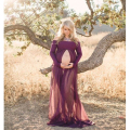 Maternity Dresses For Photo Shoot Long Chiffon Dress Maternity Photography Props Pregnancy Clothes For Pregnant Women Royal