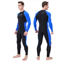 MEN Anti ultraviolet WetSuit 3MM Full Body Suit Super Stretch Diving Suit Swim Surf Snorkeling Warm Thermal in Cold Water P5