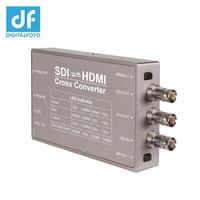 Seetec HDMI к SDI SDI HDMI конвертер мини трансляции преобразователи Профессиональный 3G SDI соединения SDI в HDMI конвертер Н