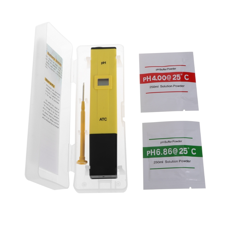 Digital PH Meter Water Quality Tester For Drinking Water Swimming Pool Aquarium Hydroponic