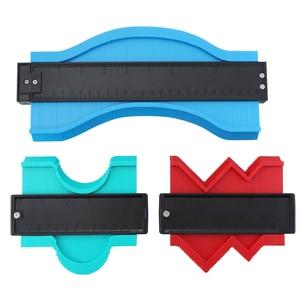 Image 5 - 5/10 Inch Contour Gauge Plastic Profile Copy Gauge  Profile Jig Guide Marking For Tile Edge Shape Copy Measuring Tool