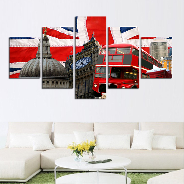 Hot sell United States Wall Art Picture City Square Photography ...