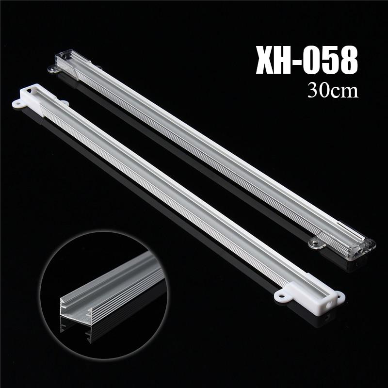 Best Price New Smuxi 30cm XH-058 LED Bar Light Aluminium Channel Holder Case Shell For LED Strip Rigid LED Bar Lights