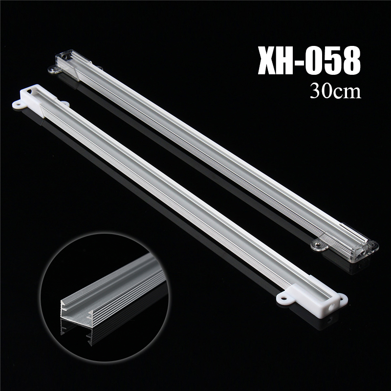 Best Price New Smuxi 30cm XH-058 <font><b>LED</b></font> <font><b>Bar</b></font> Light Aluminium Channel Holder Case Shell For <font><b>LED</b></font> Strip Rigid <font><b>LED</b></font> <font><b>Bar</b></font> Lights image