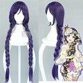 Любовь онлайн! Lovelive! Nozomi тодзио косплей парики длинные прямые кос фиолетовые волосы хвост девушки женщин аниме ну вечеринку парик бесплатная доставка